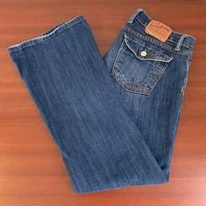 Lucky Brand Flap Pocket Button Fly Jeans